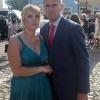 Бывший футболист «Металлиста» с супругой Каролиной на свадьбе Роберта Левандовски